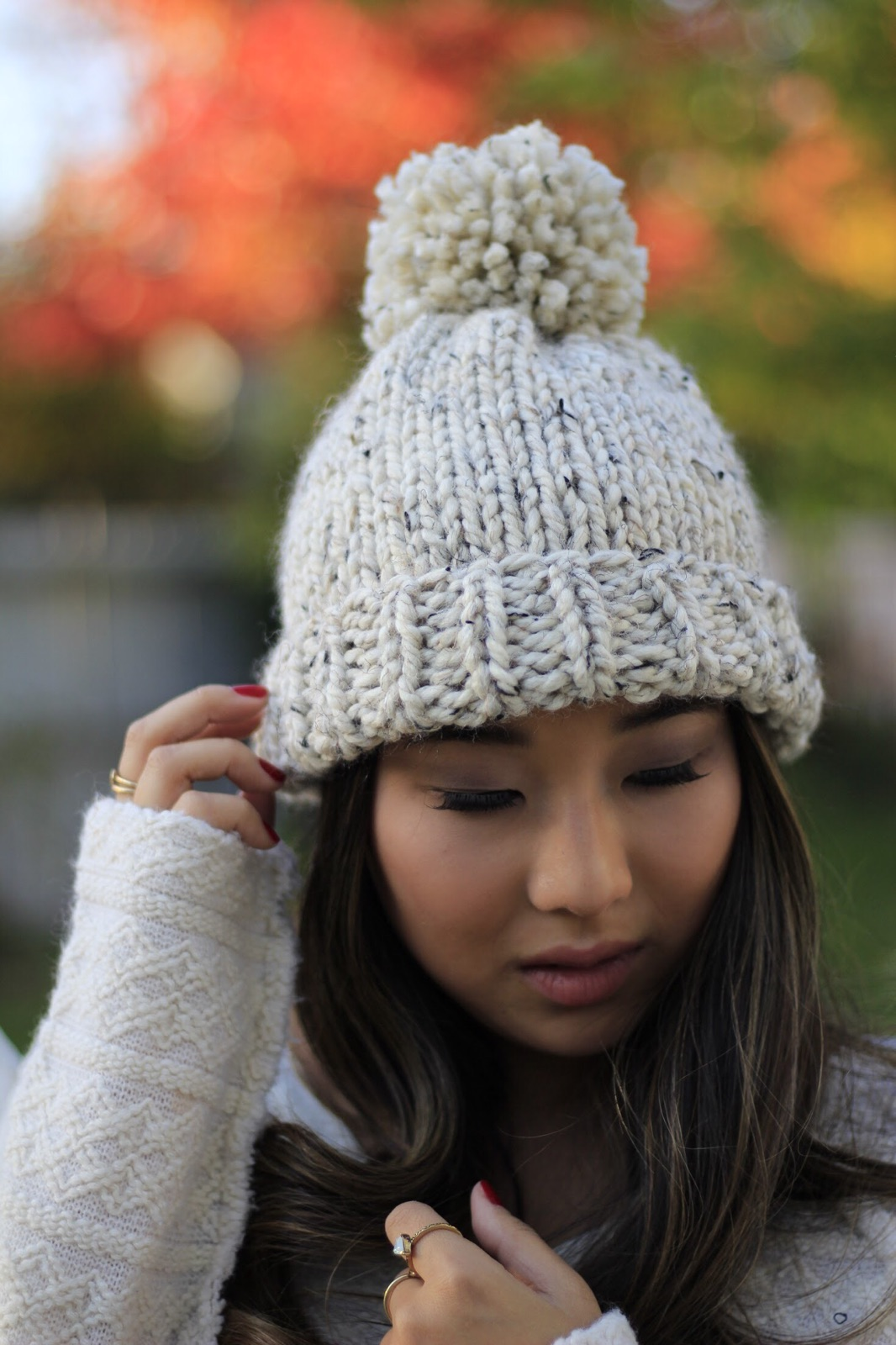 Fold Over Beanie by Northern Loop Knitwear