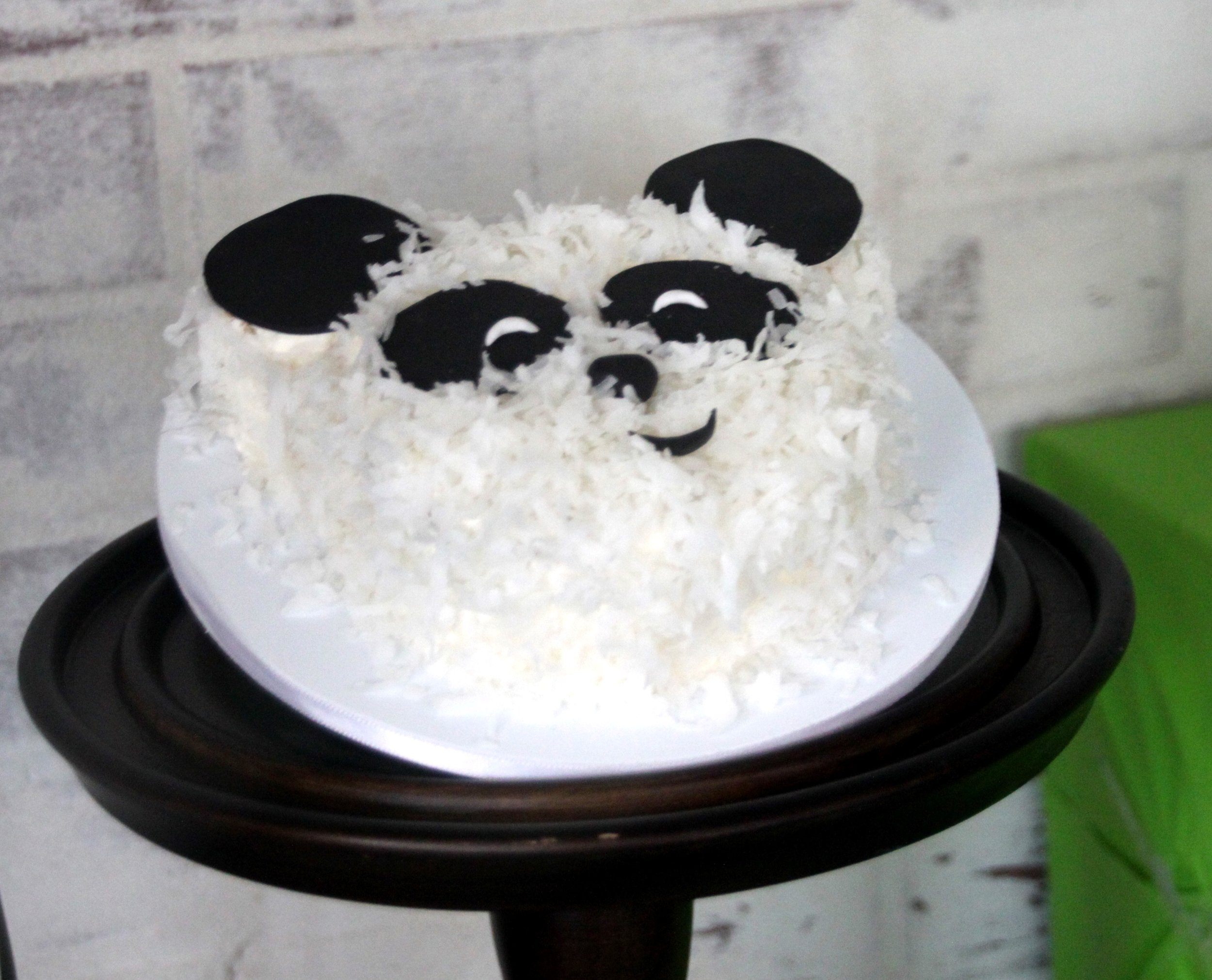 Panda smash cake by sugarsuckle