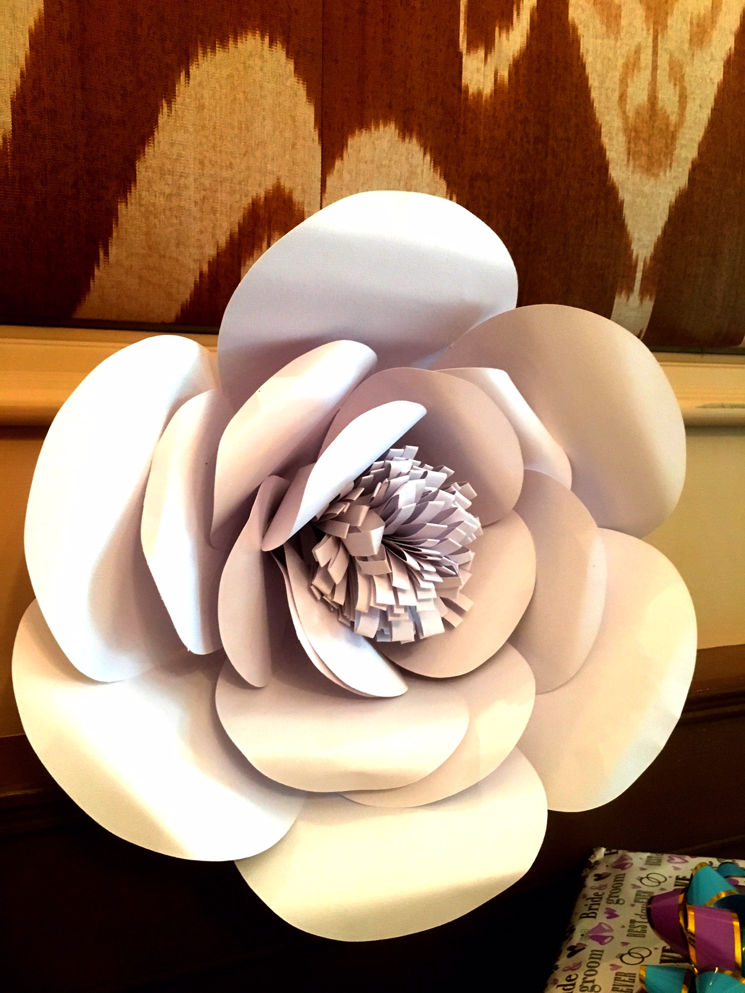 Paper Flowers made with love by Serena & James Events