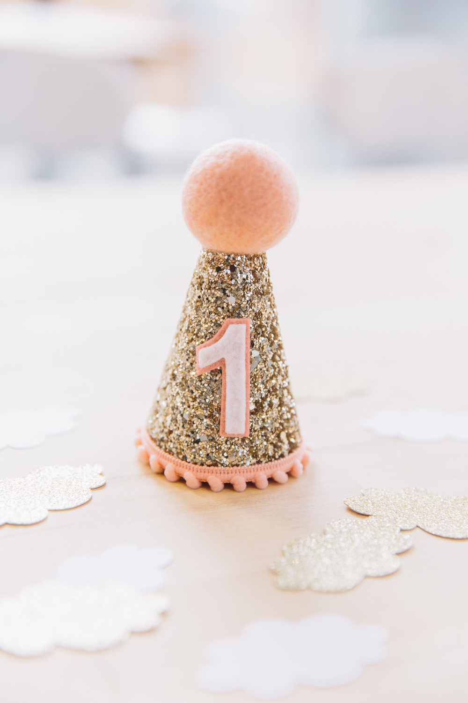 Teeny Tiny First Birthday Hat
