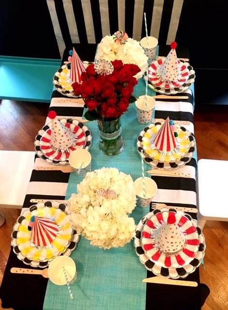 Carnival Kid's Table