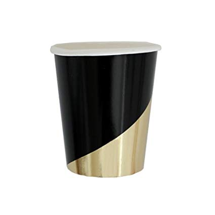 Black and Gold cups