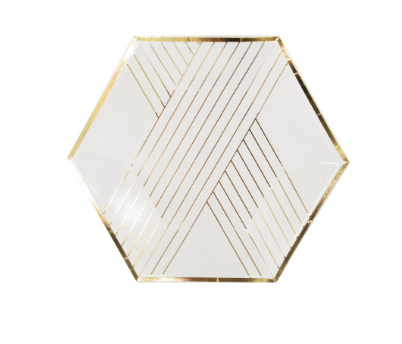 Small Gold Plate