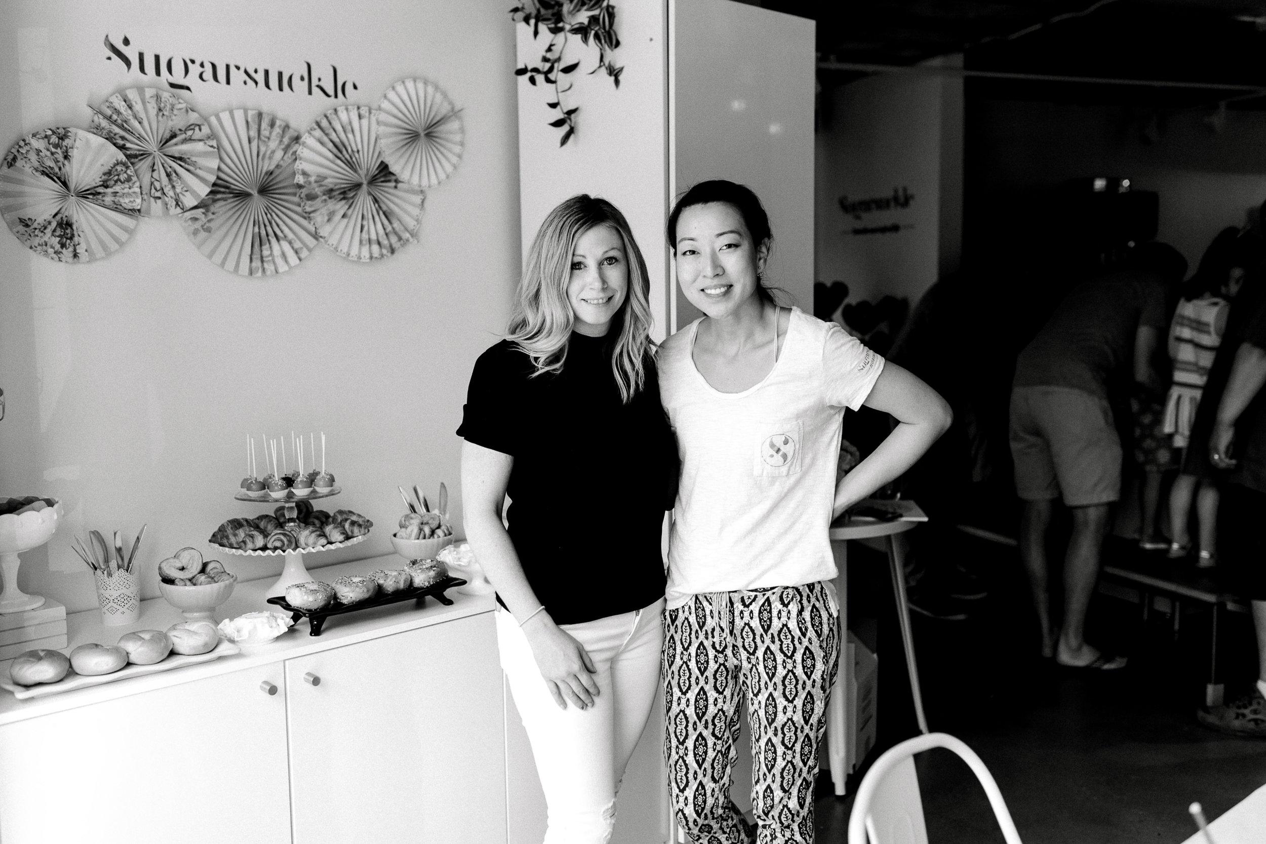 Kristin Bufano and Jennifer Choi
