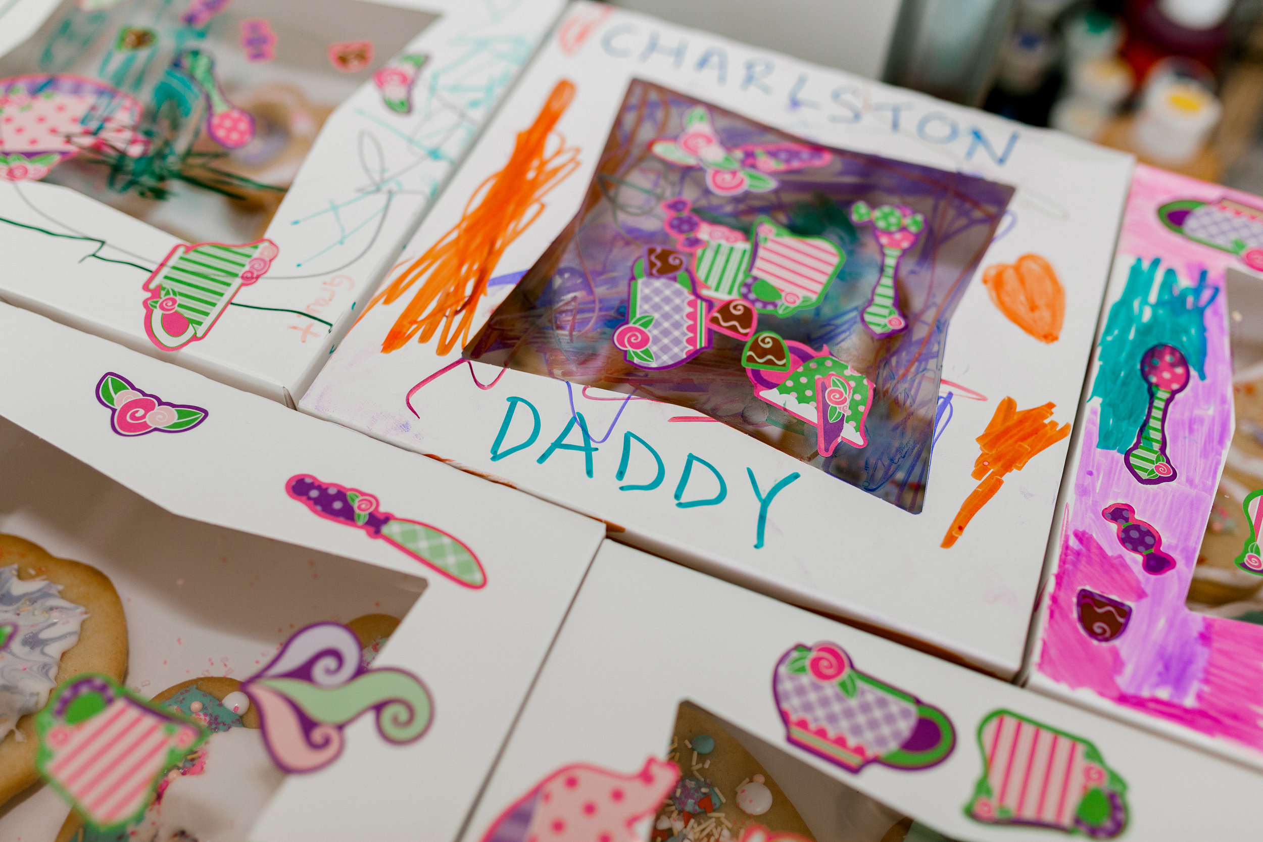 Cookie Box designs by the daughters