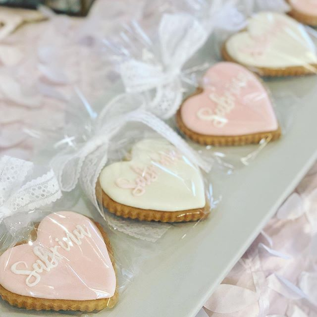 Sweet Sabrina! Loving these cookies made by @sugarsuckle thanks @nygal_in_socal for letting us decorate and hosting such a lovely brunch. Xoxo . . . . . #eventstylist #christening #desserttables #eventdecor #sweetstable #eventplanner #pinkandwhitedecor #popseri #eventgoals