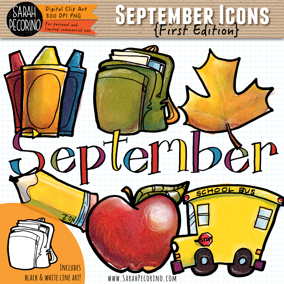 September Icons {First Edition}