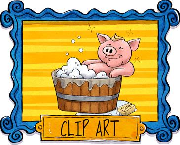 Sarah Pecorino Illustration Clip Art Clipart Graphics Store