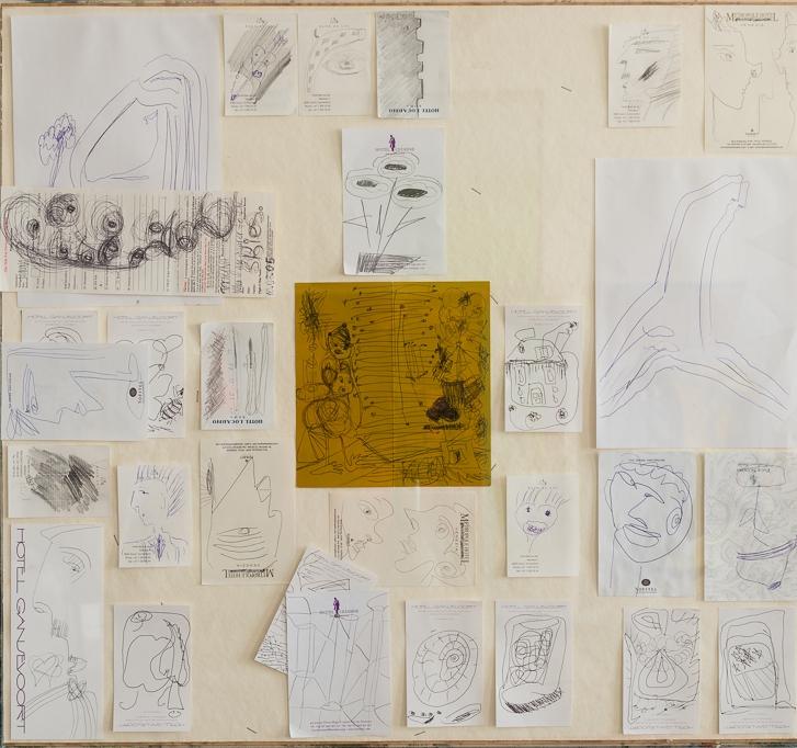 hotel-drawings, 2005 etc.