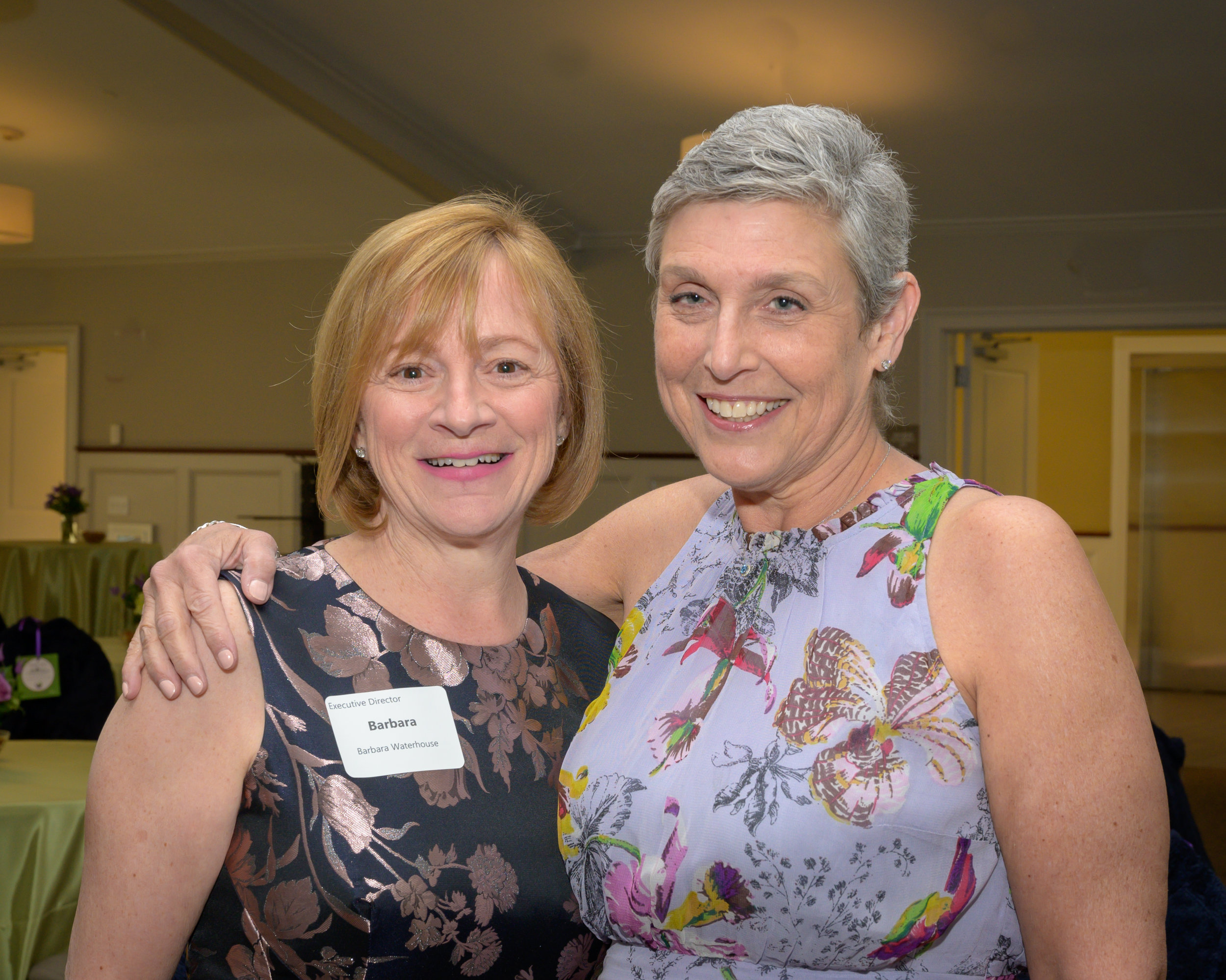 COH Executive Director Barbara Waterhouse (left) with Dr. Laurie Konowitz (right)