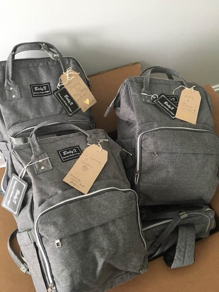 Welcome Baby Bags full of necessities for homeless newborns