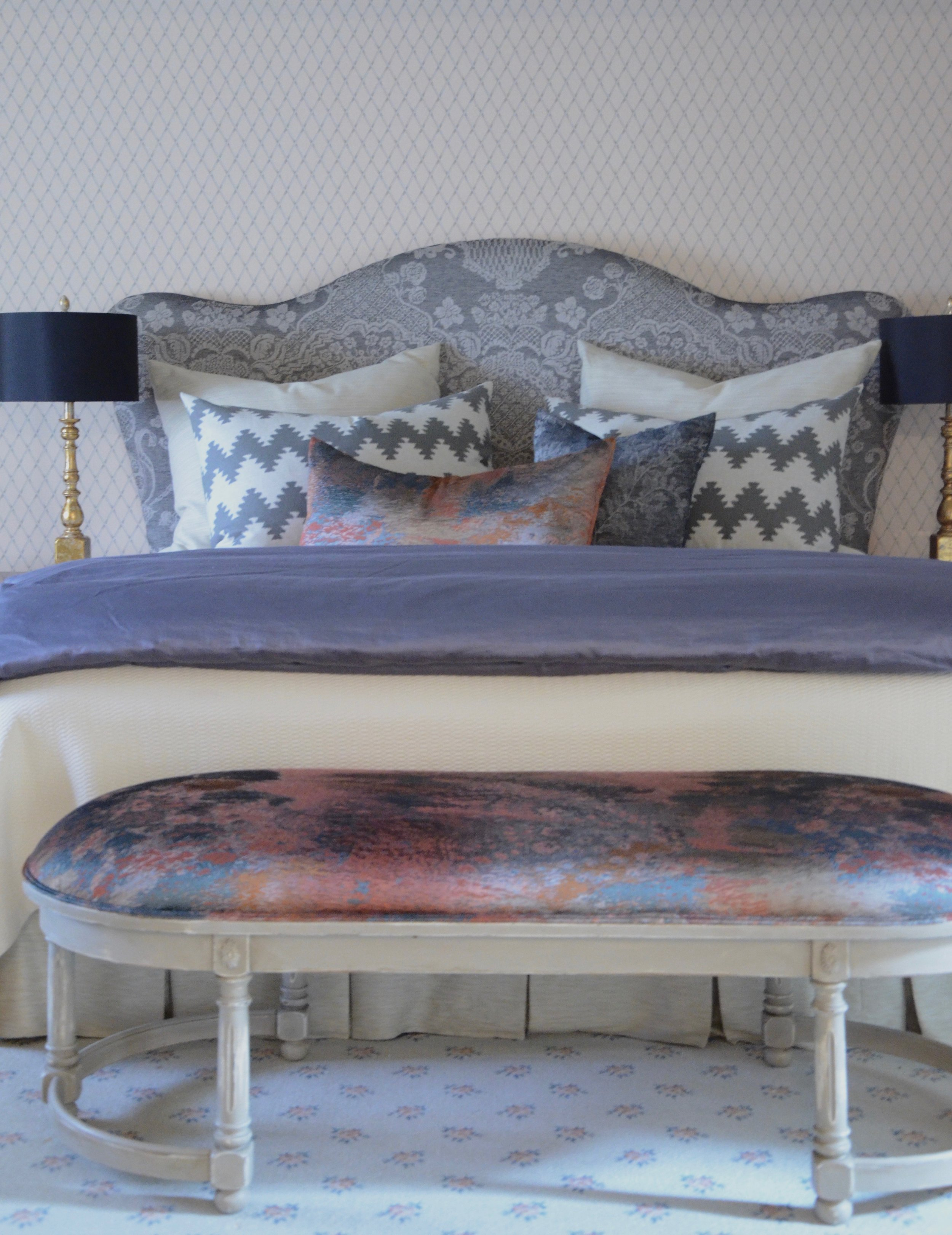 Master bedroom designed by valerianne