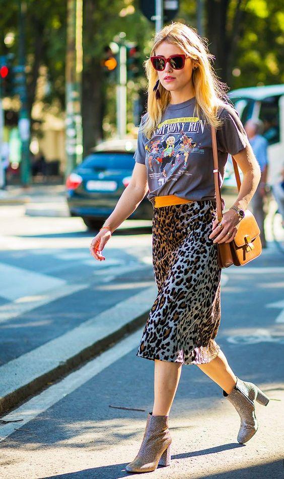 valerianne of dc is loving this leopard print skirt.