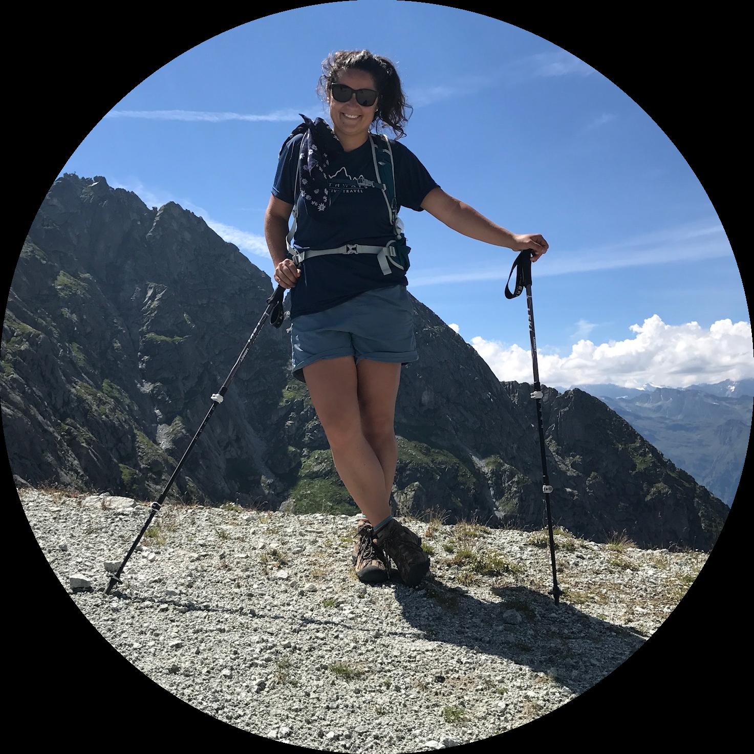 Sarah hiking in Merano | Summer 2017