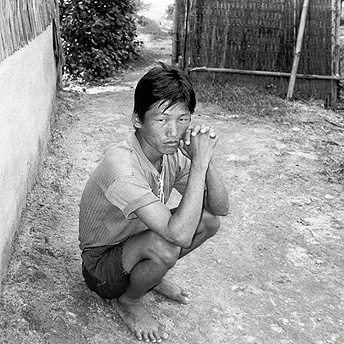 If real tears are an indisputale sign of grief, then glass tears could possibly be the mark of insincerity. From looking at our faces you see no tears but our internal hearts are crying.    Bishnu Maya  / PhotoVoice / LWF