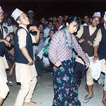 Bhutanese dancing, even though we are far from our country we still like to celebrate our culture and traditions.  Indra / PhotoVoice / LWF