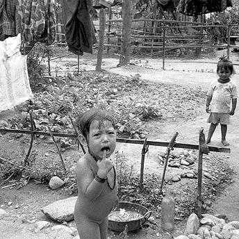 Crying child. Bishnu Maya  / PhotoVoice / LWF