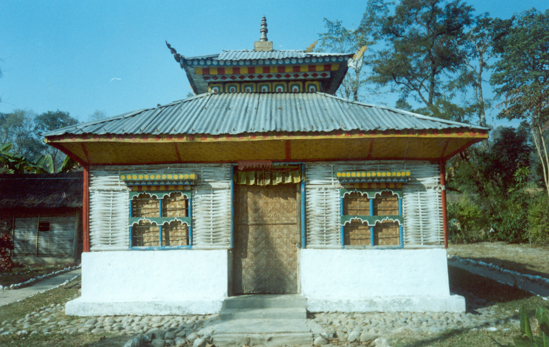 There are temples situated all over the camps. Khem / PhotoVoice / LWF