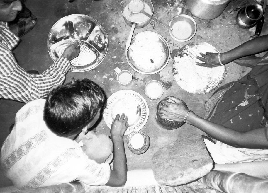 Supper in my hut. Yethi Raj / PhotoVoice / LWF