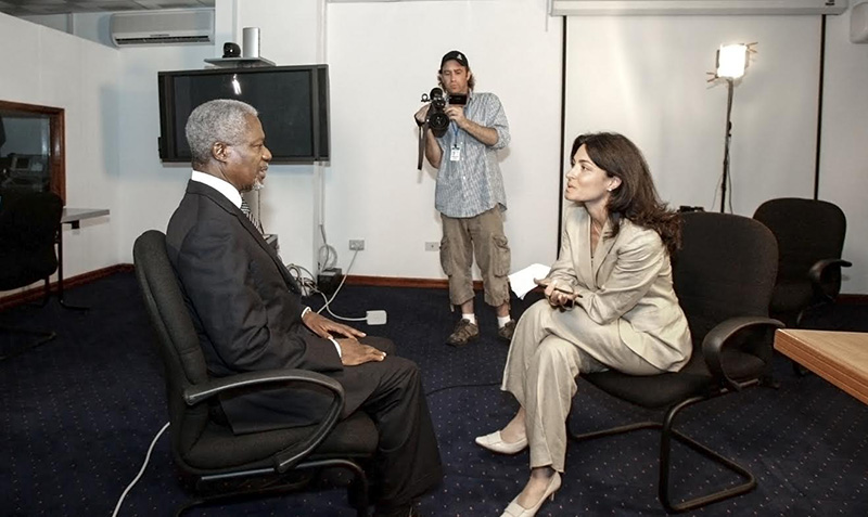Copy of Kofi Annan with Ghida Fakhry