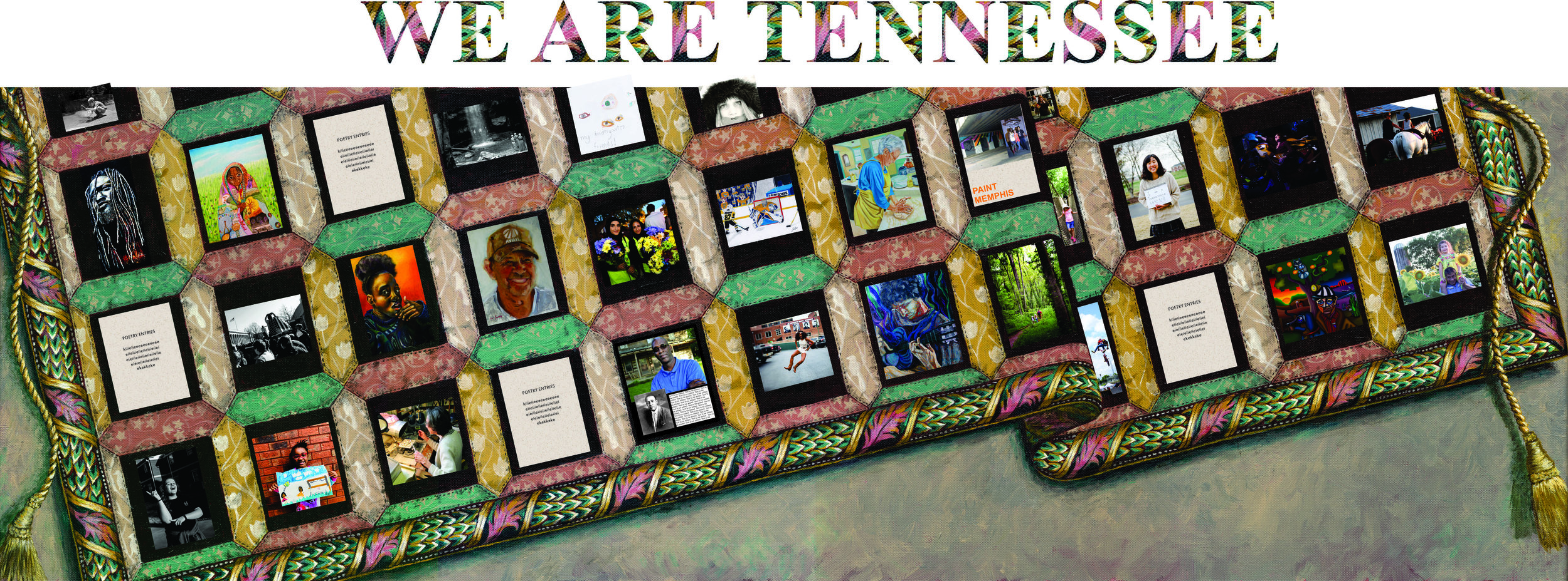 At the Discovery Center at Murfree Springs. 502 NW Broad St., Murfreesboro, TN. New exhibit opens this day. Visit the Discovery Center 2nd floor any open museum day to see Tennessee artist submissions displaying the cultural diversity of our state.