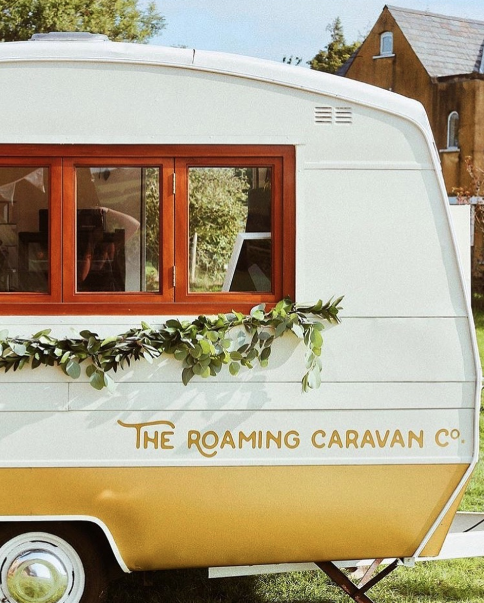 The Roaming Caravan Co  Fun retro bar for your event, offering styling and signage too!