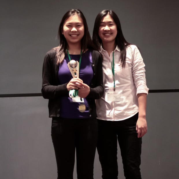 "3rd Place Overall / 1st Place Renewable Roadblocks    KELLY YU & GRACE WU   John P. Stevens High School    ""The Energizers"" did a great job exploring the potential of ocean energy from technological, social, and economic perspectives,    Check out their winning presentation here!"