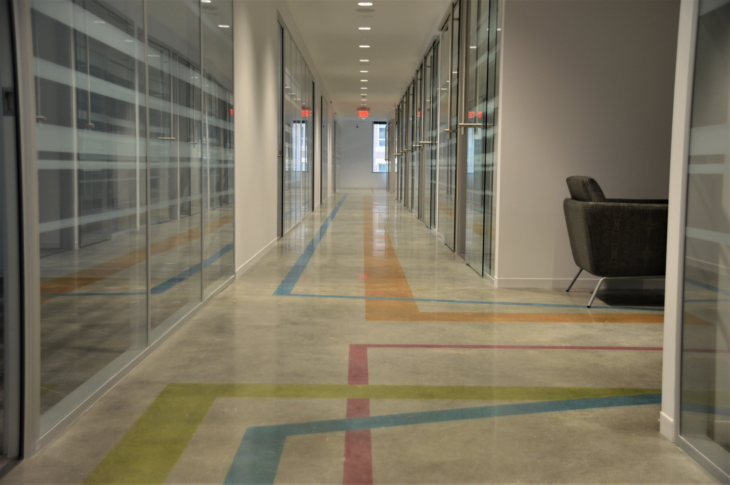 techspace - Polished & Stained Concrete