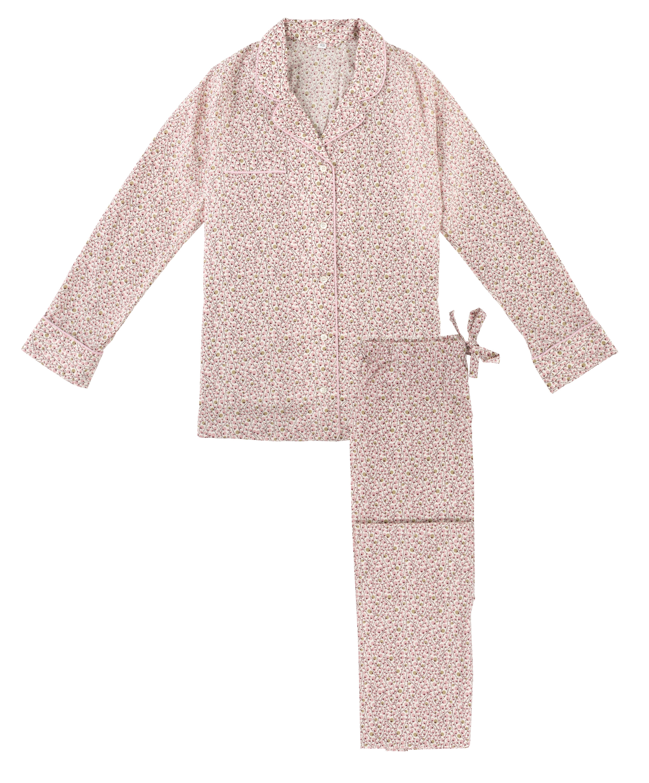women's Pink Twiglet Pyjama Set