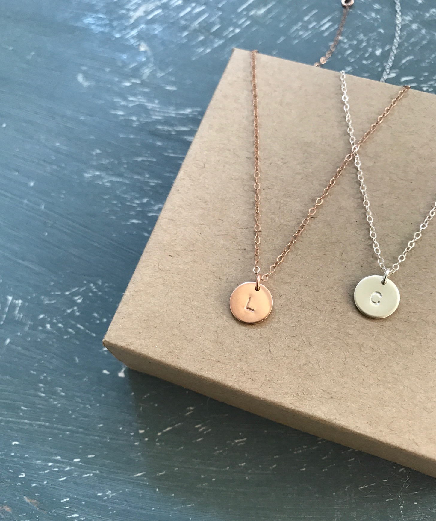 Personalized necklaces make the perfect gift, especially for new moms.