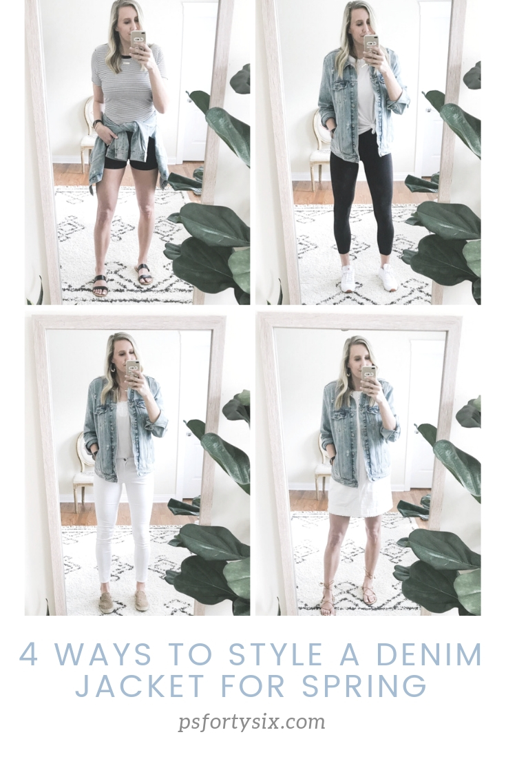 4 Ways to Style a Denim Jacket for Spring | psfortysix.com