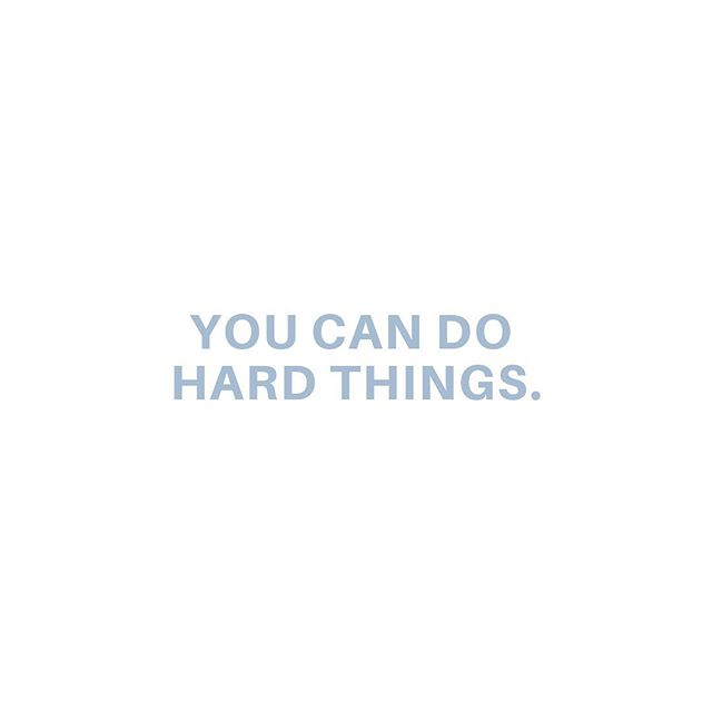 Your Sunday night reminder ⚡️👊🏼 ⠀⠀⠀⠀⠀⠀⠀⠀⠀ #psfortysix #withinher #madeformore #youcandohardthings #starttodayjournal #ownyoureveryday