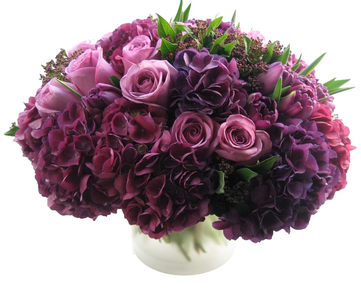 Lavender Purple Hydrangea Mix starts at $175