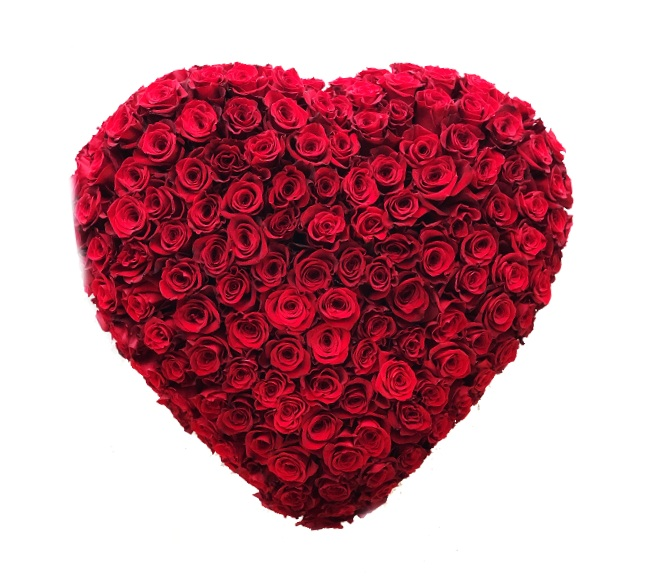 Red Rose Heart starting at $875