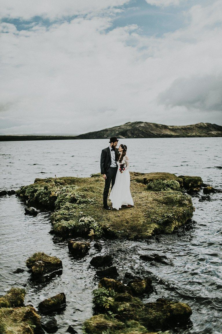 Image from Brides.com - Location: Iceland