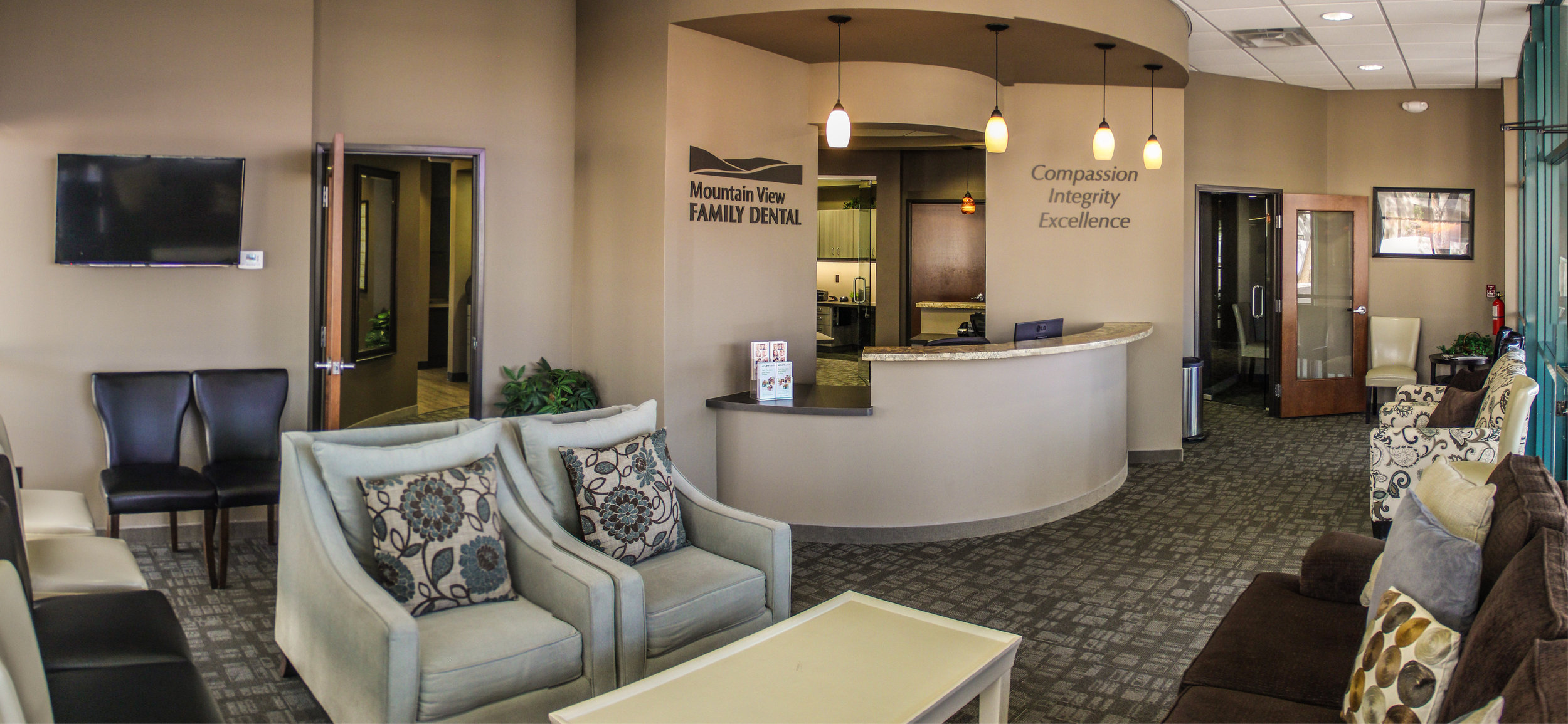 Comprehensive dental care in an environment of comfort & trust.
