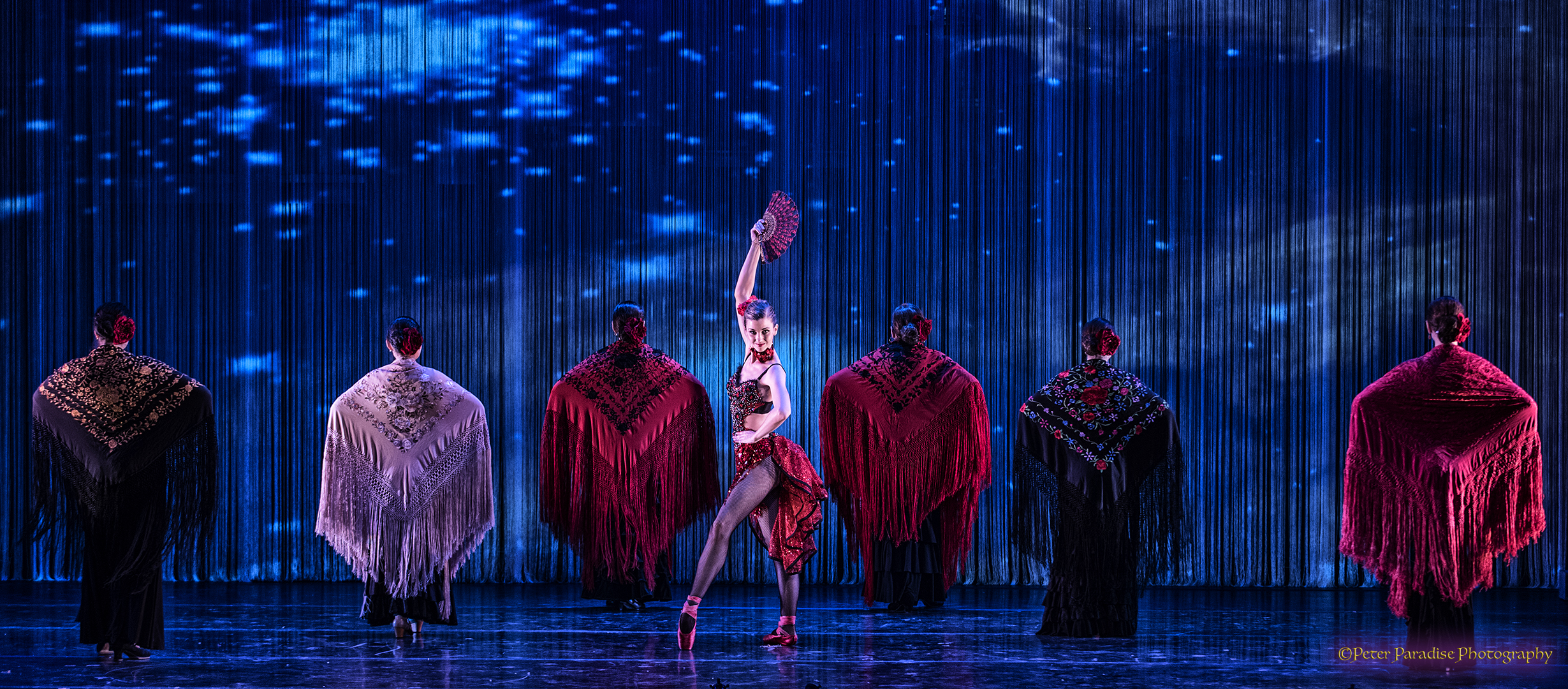 Tony Williams Urban Nutcracker. Kirsten Glaser as Spanish. Credit Peter Paradise Michaels.jpg