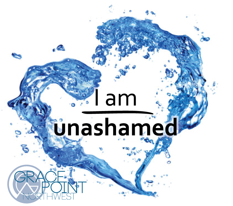 - Here at Grace Point, we believe that baptism is a public declaration of an inward commitment to follow Jesus. As followers of Jesus, we are not ashamed! Not ashamed of our past, not ashamed of who we used to be and not ashamed of the one who changed it all for US! We proudly declare that Jesus is our savior and that we follow Him!We are hosting a Baptism Class on Sunday, July 21st at 11:15 am. Our next baptism opportunity is coming up on Sunday, July 28th. Are you ready to shout from the mountain tops that I AM UNASHAMED?!