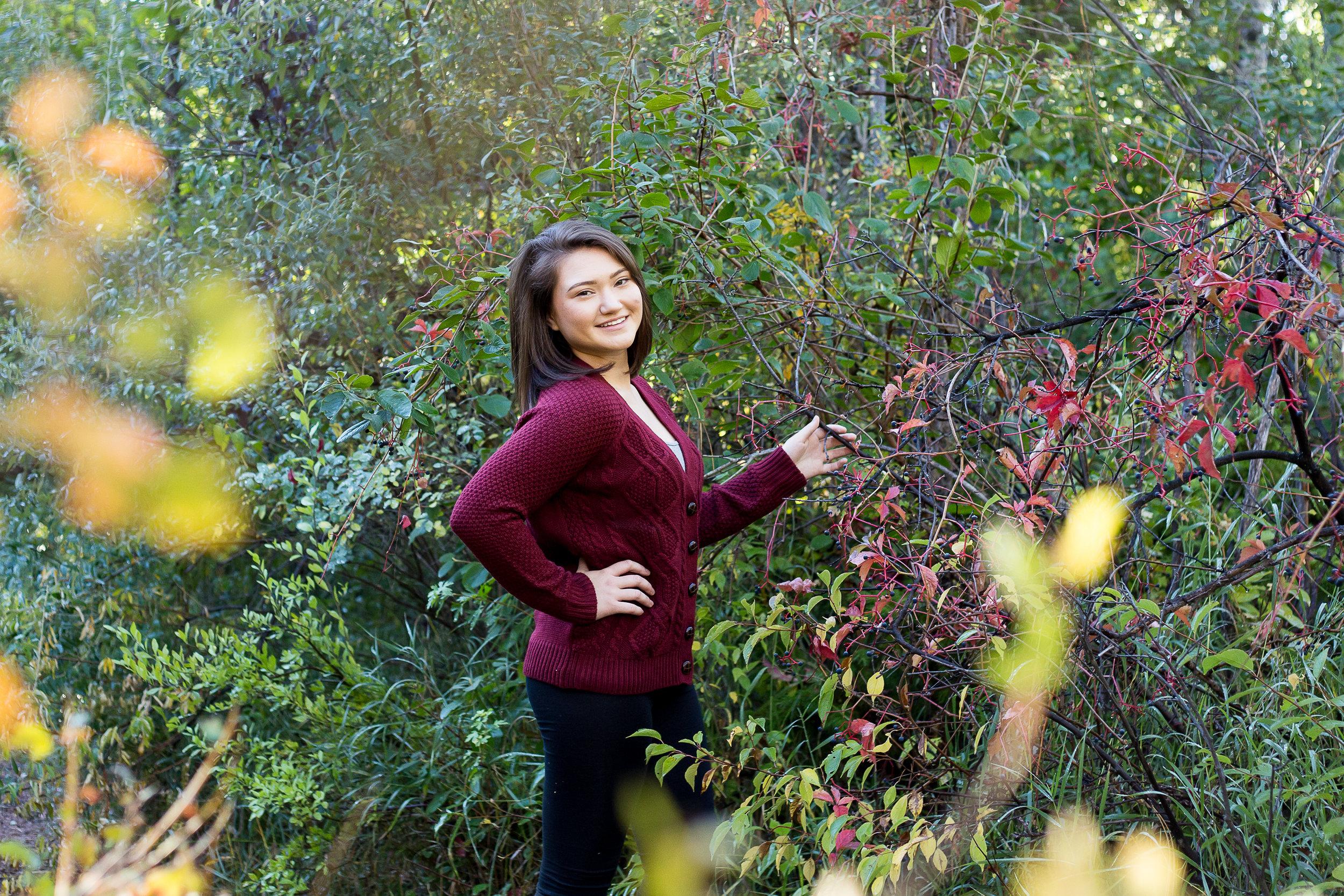 Victoria Colorado Springs Senior Photos