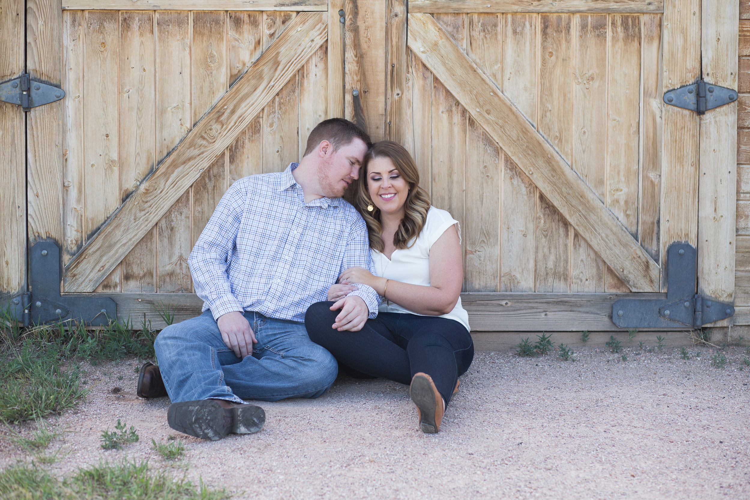 Colorado Springs Rock Ledge Ranch Engagement Stacy Carosa Photography