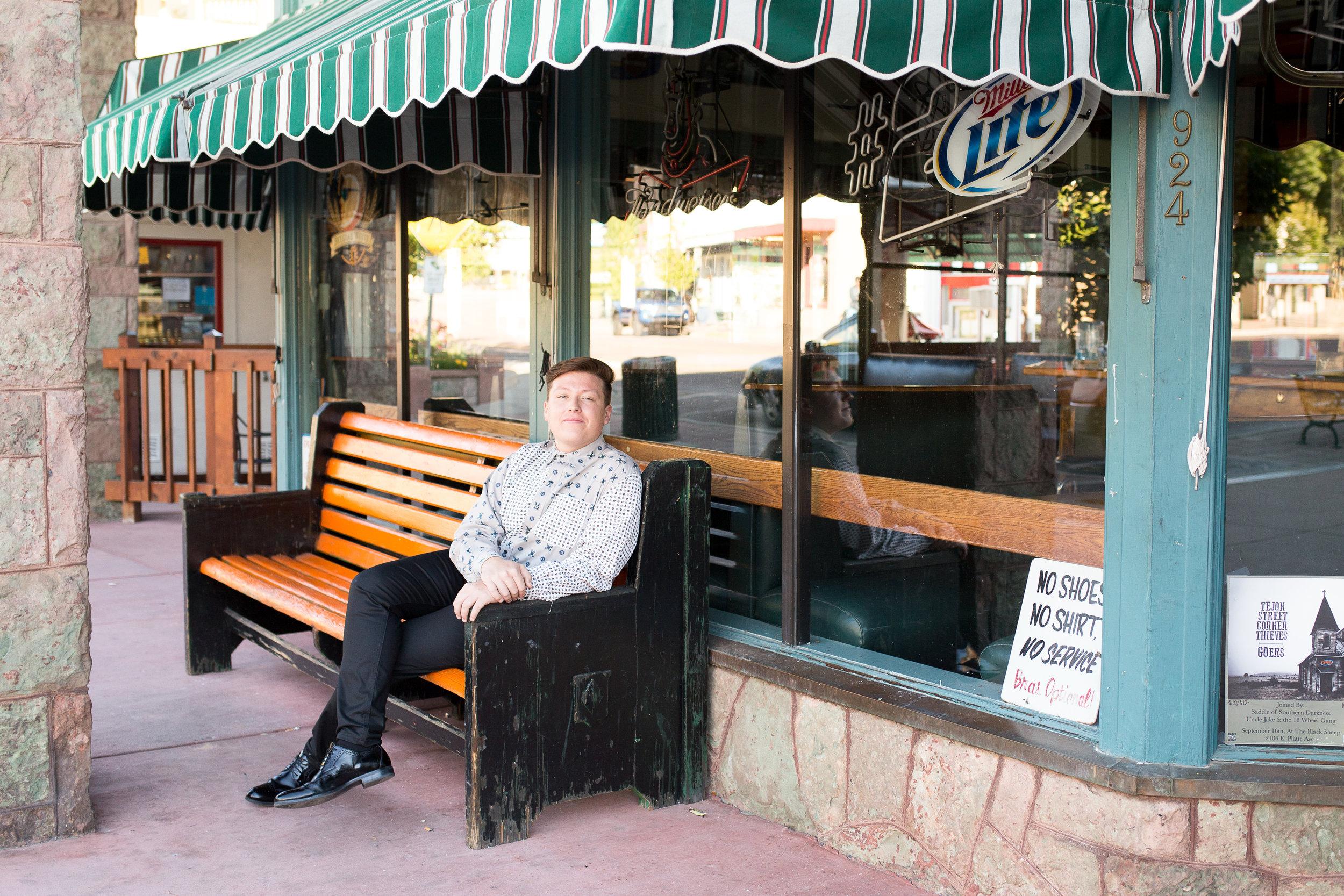 Colorado Springs Senior Portraits | Manitou Springs Senior Photography | Colorado Springs Senior Photographer | Stacy Carosa Photography