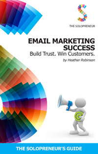 Email Marketing Success: Build Trust. Win Customers    The perfect guide to using Email Marketing for small business owners. Learn about putting together the perfect campaign to get your email opened and know who you can and can't send emails to.   Available in Kindle format on Amazon