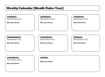 week-planner