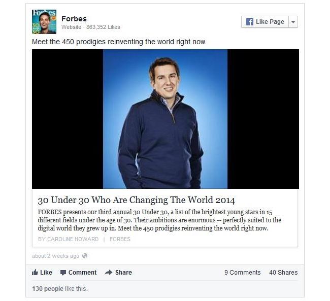 Facebook Link-Share Post