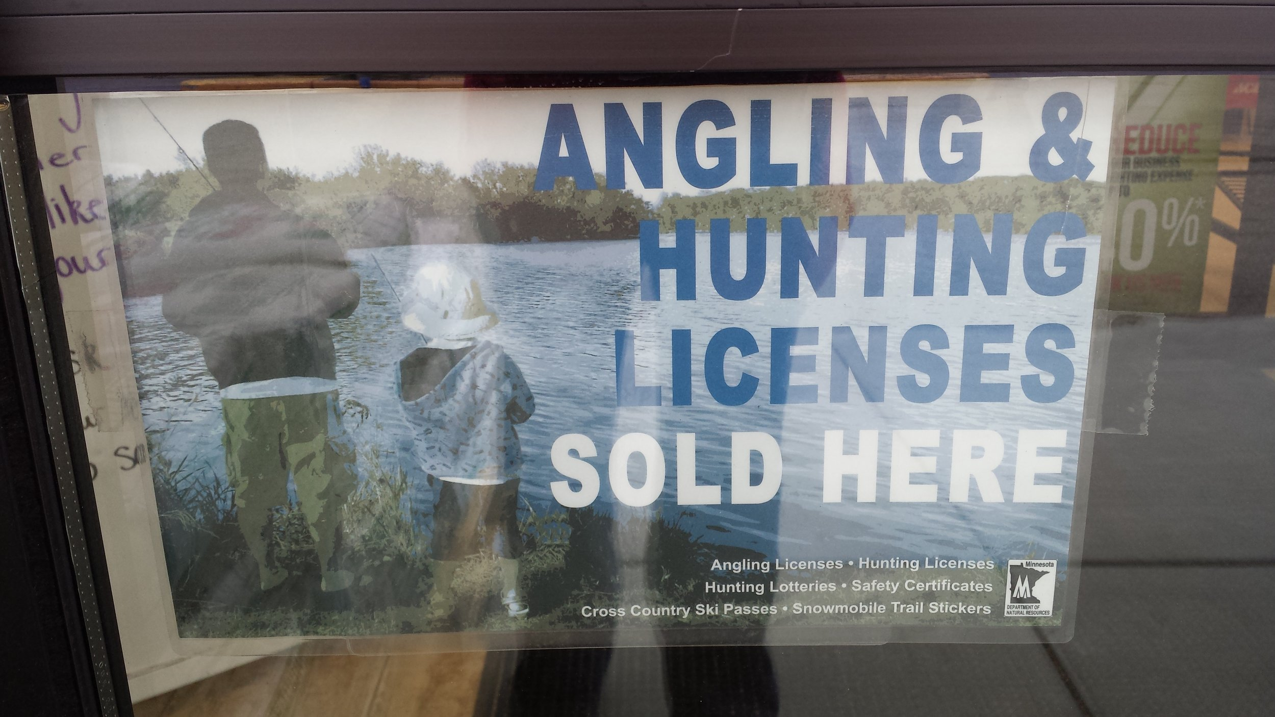 HUNTING & FISHING LICENSES SOLD HERE!