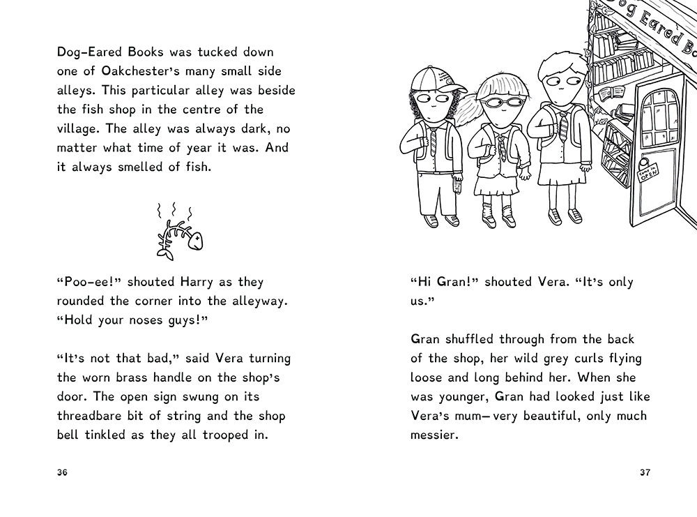 Extract from Vera McLuckie and the Daydream Club