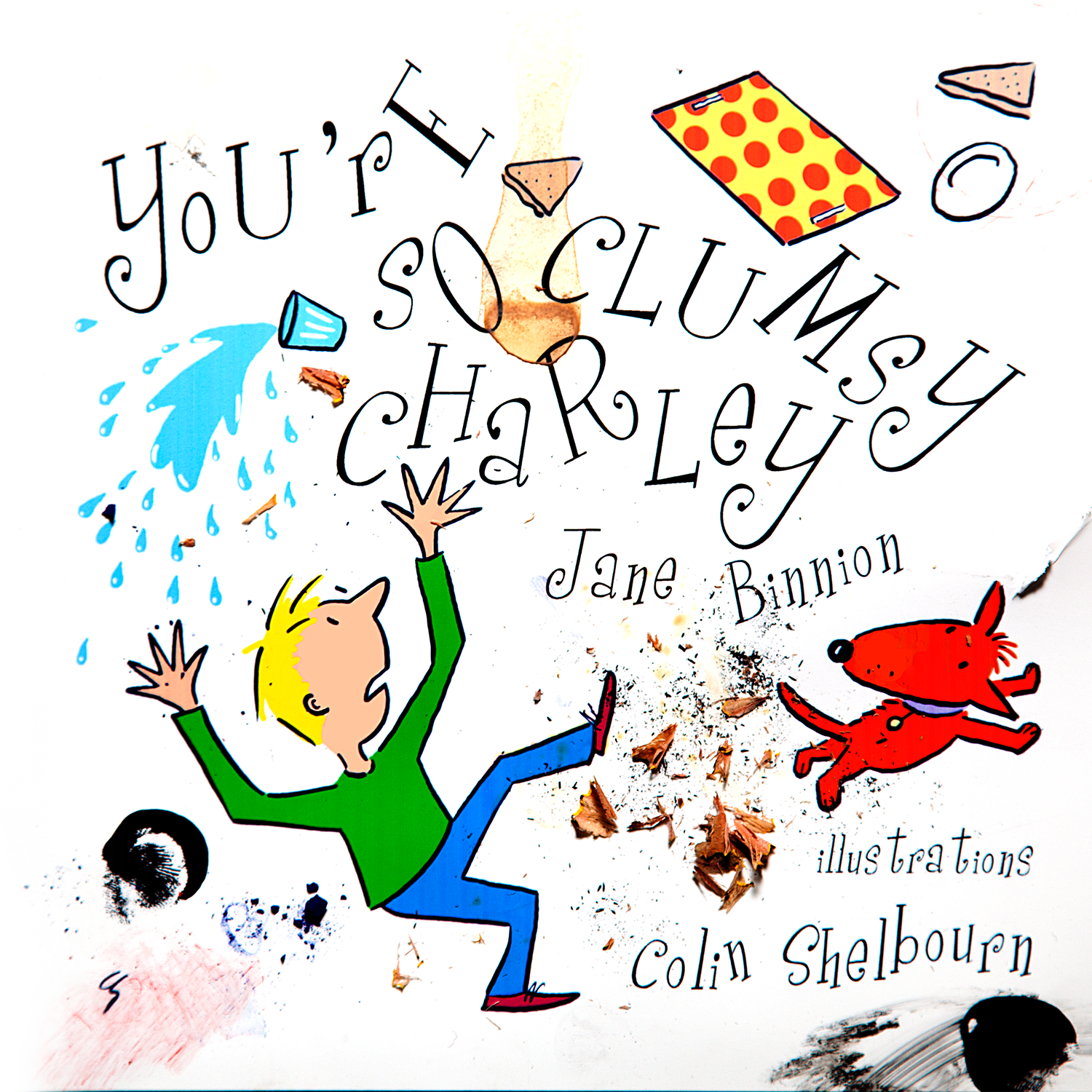 You're So Clumsy Charley was revised with a dyslexia-friendly typeface and given some teacher's notes, before being moved across from our Funky Gerbil Press imprint to its new home at Your Stories Matter