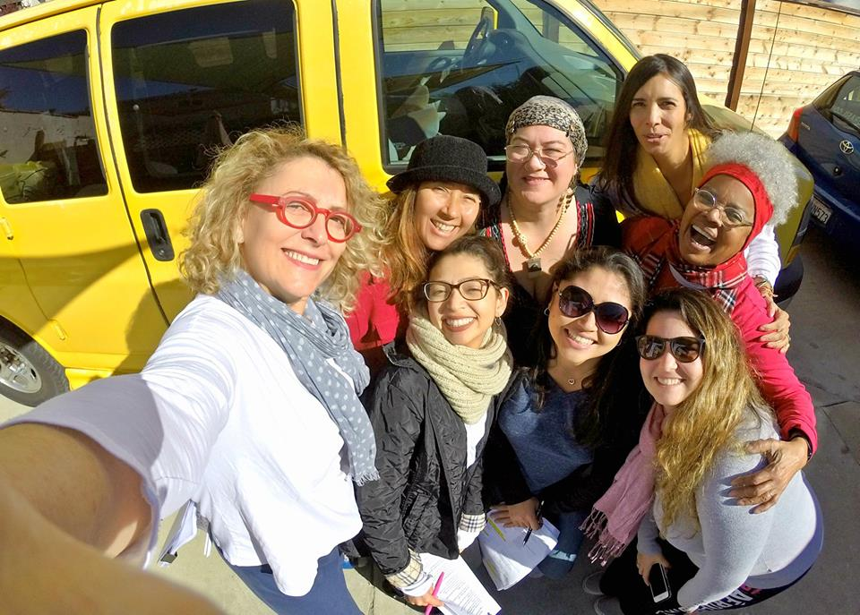 Part of the 2019 cast: Ana Gazzola, Katia Moraes, Kanami, Diana Purim, Marcele Berger, Emina Shimanuki, Natalia Spadini and Sonia Santos.