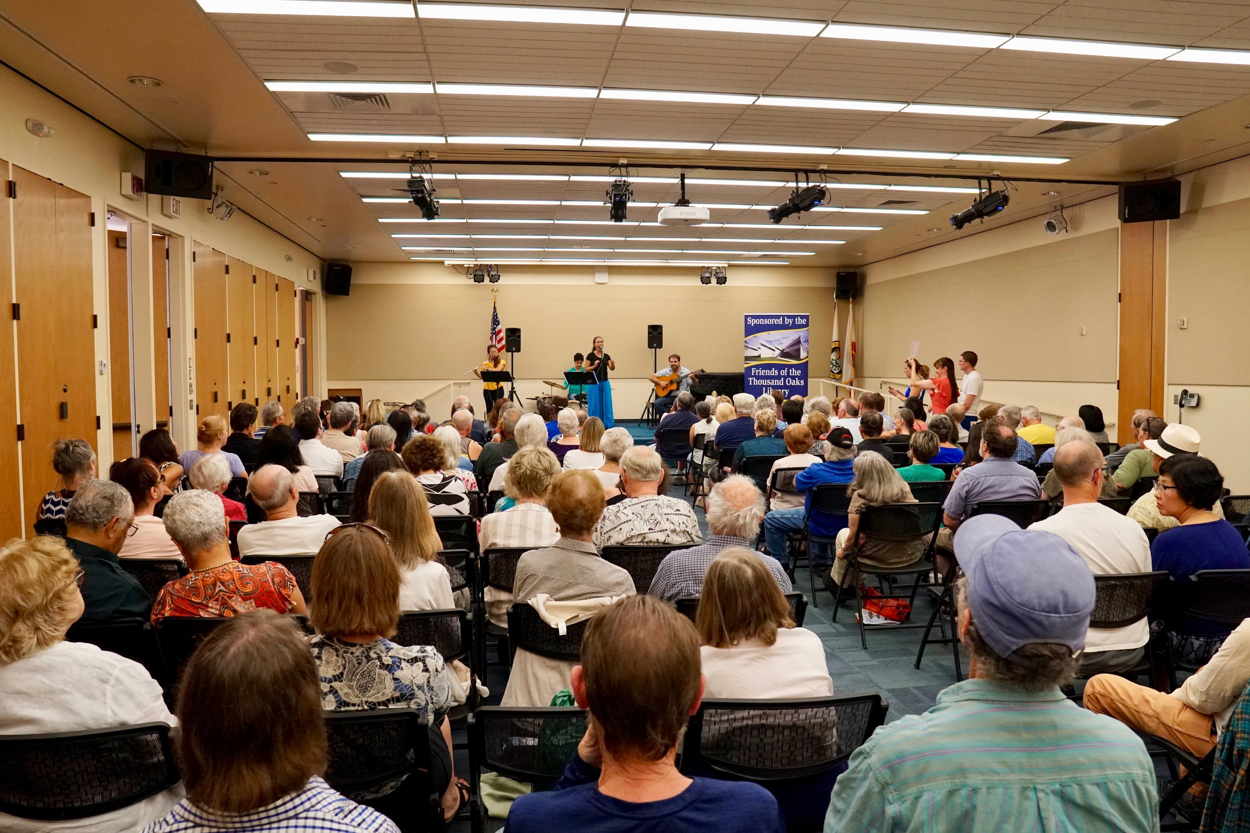@ Thousand Oaks Library. Photo by Craig Chretien.