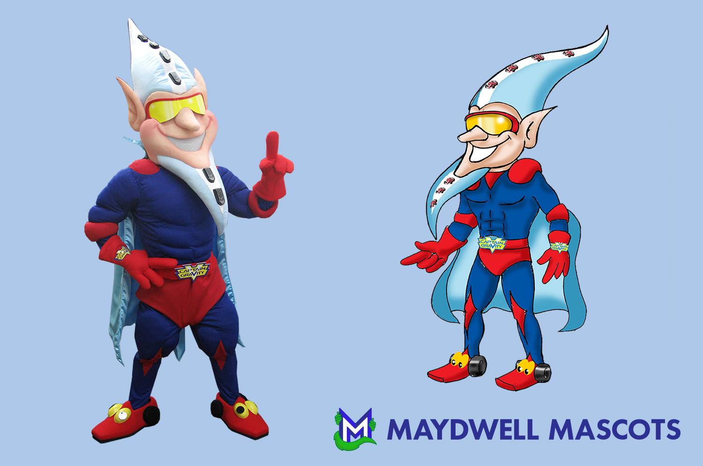 Superhero Gravity Man